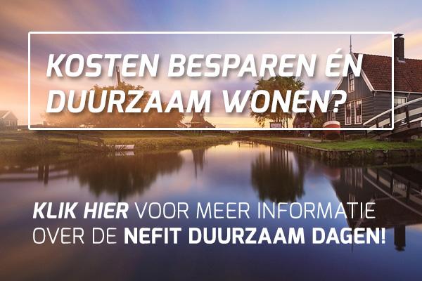 Klik hier voor meer info over de NEFIT DUURZAAM DAGEN